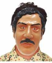 Pablo escobar drugsdealer verkleed masker volwassenen