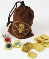 Piraten buidel goudstukken