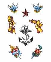 Plak tattoos zeeman x