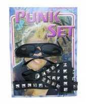 Punk rockers verkleedsetje