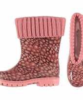 Regenlaarsjes kinderen roze voering 10116558