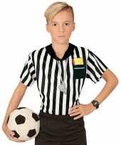 Scheidsrechter verkleed shirt jongens