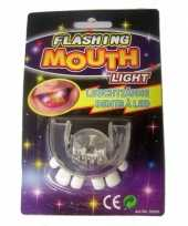 Scheve tanden tanden gebit led lampjes