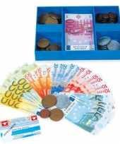 Set speelgoed briefgeld munten
