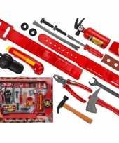 Stoer brandweerman speelgoed