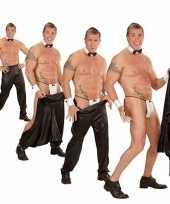 Stripper broek zwart heren
