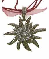 Tiroolse ketting edelweiss bloem
