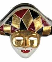 Venetiaanse maskers hof nar
