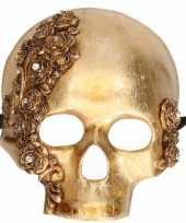 Venetiaanse maskers teschio rose gold
