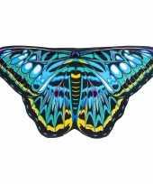 Vlinder verkleed vleugels kids clipper