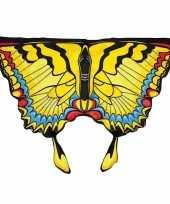 Vlinder verkleed vleugels kids gele zwaluwstaart
