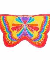 Vlinder verkleed vleugels kids regenboog 10089600