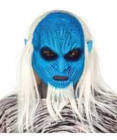 White walker zombie horror masker latex