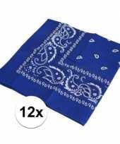 X boerenzakdoeken blauw 10126073