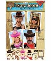 X foto props cowboy feestje
