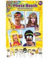 X foto props hippie feestje