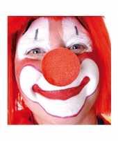 X opzet clownsneuzen rood
