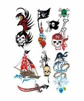 X piraten thema plak tattoo stickers 10143300