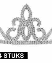 X prinsessen tiara zilver dames 10145252