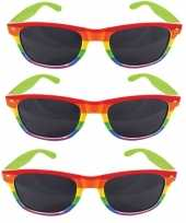 X regenboog feest brillen volwassenen 10157866