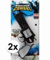X stuks politie militair speelgoed pistolen