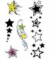 X velltjes sterren tattoos stuks per vel