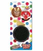 Zwarte horror verkleed schmink gram sponsje