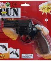 Zwarte politie revolver